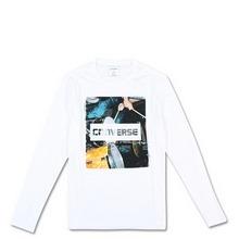 匡威官网正品长袖图案T恤10003235102
