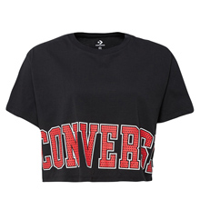 匡威官网正品Converse Heritage Wordmark Easy Crop Tee10007082-A01