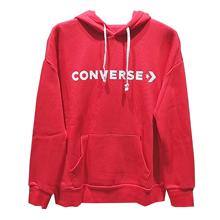 匡威官网正品Converse Star Chevron Oversized Pullover Hoodie10007716-A06