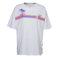 匡威官网正品Converse Palm Tree Stripes Boxy Tee10008471-A01