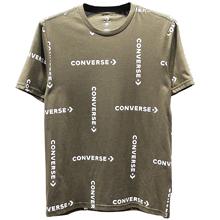 匡威新款Converse Grid Wordmark Print Tee10008548-A01