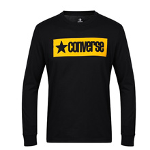 匡威新款Converse Vintage Star Long Sleeve Tee Slim Fit10008825-A01