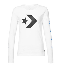 匡威官网正品Converse Star Chevron Long Sleeve Tee10009031-A03