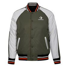 匡威官网正品Mens Reversible Baseball Jacket10016831-A02