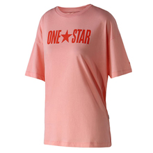 匡威新款One Star Printable Boxy Tee10017792-A01
