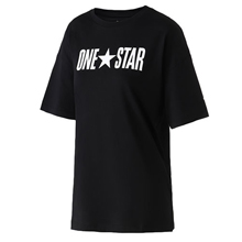 匡威新款One Star Printable Boxy Tee10017792-A02