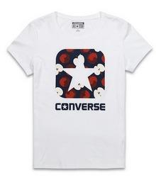 匡威官网正品图案T恤12254C102