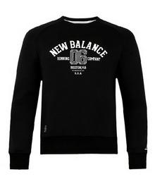 newbalance针织套衫AMT61610BK